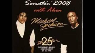 Michael Jackson ft Akon Wanna be startin´ something 2008 HQ