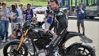 Киану Ривз   преданный фанат кастом - мотоциклов
