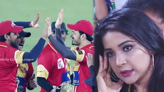 Epic FIRST BALL WICKET OUT With Direct Hit By Telugu Warriors Against Chennai Rhinos