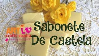 🔴 Como Fazer Sabonete De Castela - How To Make Homemade Castille Soap E 85 ENG/ESP SUB