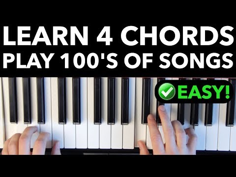 Learn 4 Chords - Quickly Play Hundreds of Songs! [EASY VERSION]