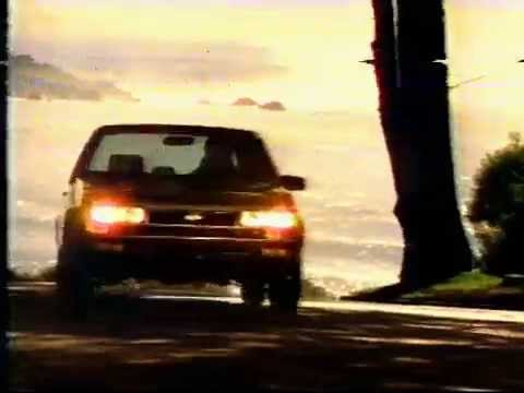 1985 Chevy Nova Commercial