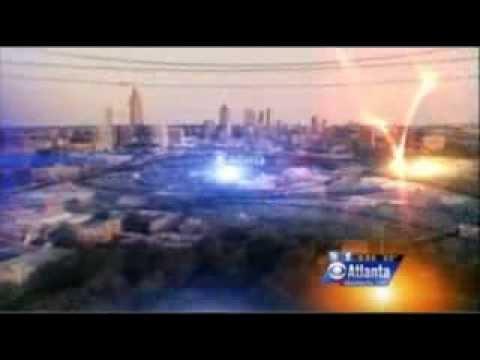 Meg Strickler on CBS Atlanta September, 2012
