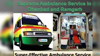 Get Superb ICU Support Ambulance Service in Dhanbad and Ramgarh