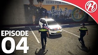[GTA5] EERSTE DAG ALS NEDERLANDSE POLITIE AGENT!! - Royalistiq | Politie Roleplay #4