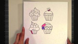 Printing And Coloring Digital Stamps Without Smearing