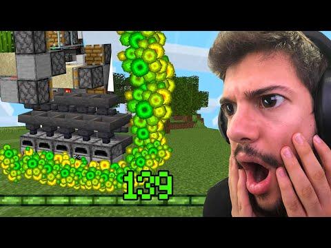 MİNECRAFT'ta OTO XP FARM YAPTIM!! (Sonsuz level) Bölüm 13