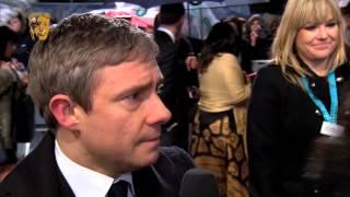 Martin Freeman : Interview Tapis Rouge EE BAFTA