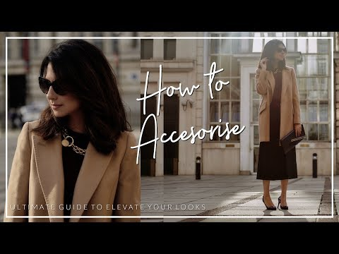 HOW TO ELEVATE YOUR LOOK WITH ACCESSORIES | Shoes Handbags Jewellery | JASMINA PURI