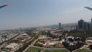 DJI FPV drone Park Hayarkon Tel Aviv Israel רחפן פארק הירקון תל אביב