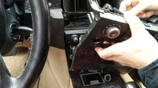 CCC Ausbau BMW E60 Navigationssystem