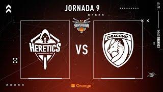 Team Heretics VS Dragons E.C.   Jornada 9   Temporada 2018/2019