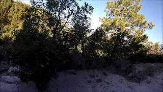 Cheyenne Trail on my fat bike