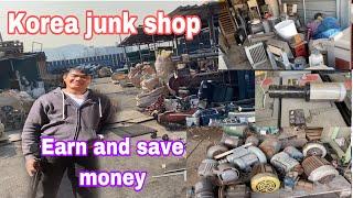 How to earn money from junk shop/ scrap yard in korea