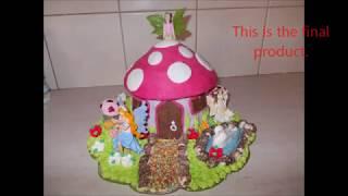 Fairy House Birthday Cake