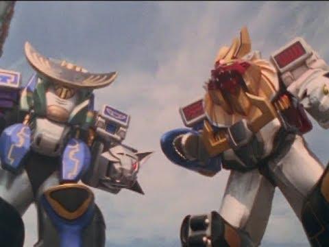 "Power Rangers Wild Force - Megazord Battle   Episode 30 ""Team Carnival"""