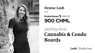 Denise Talks Canabis and Condo Boards