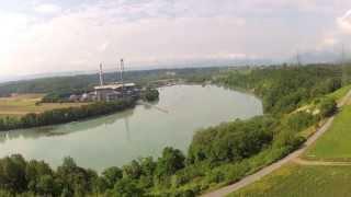 preview picture of video 'Peney, Bord du Rhône'