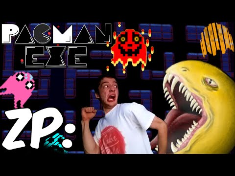 Zonic Plays: Pac-Man.exe W/Webcam! Level 1-6 + Special Ending! | Pac-Man Horror Game