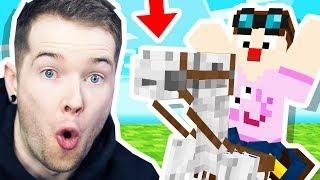 I STOLE a SKELETON HORSE in Minecraft Hardcore!
