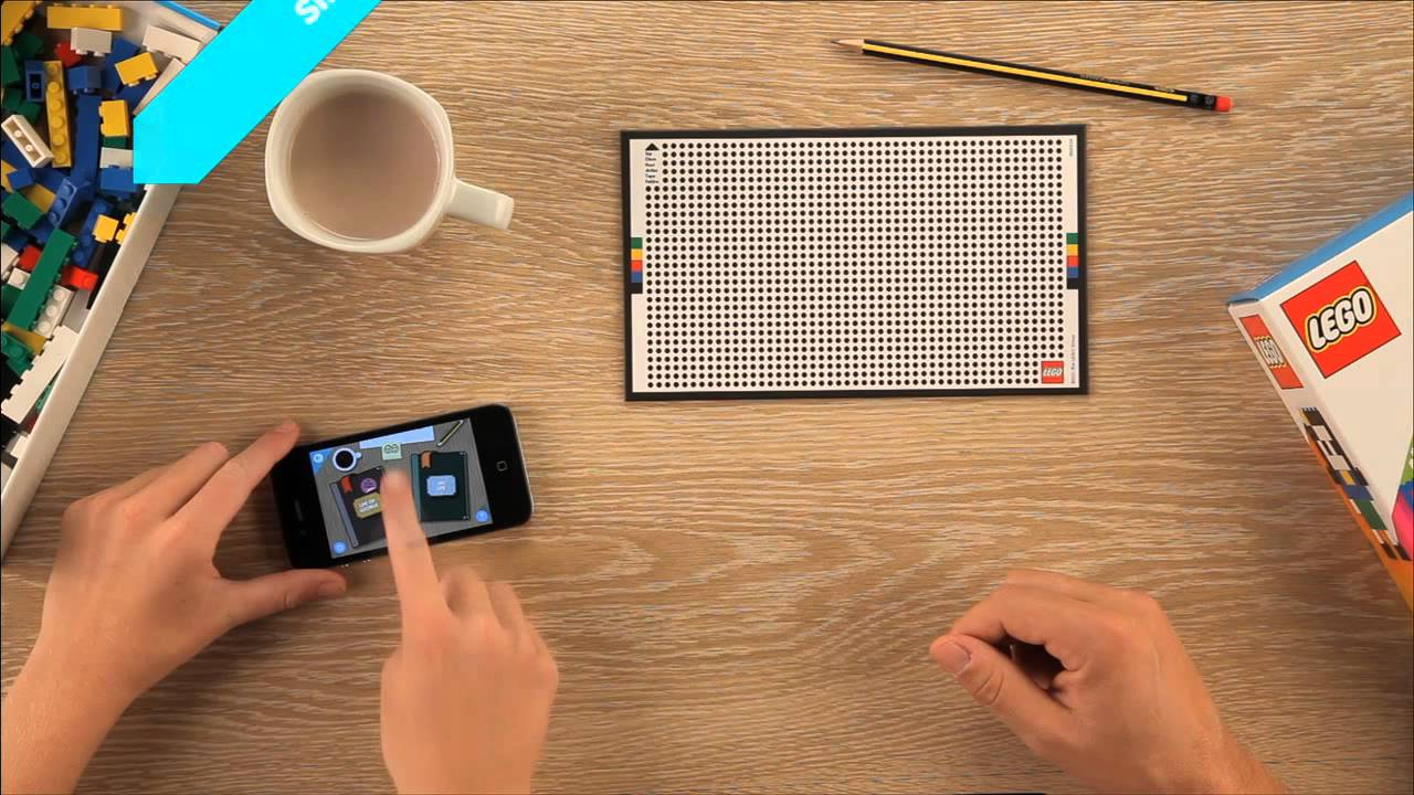 The Future Of LEGO (Or How To Use An iPhone To Play With LEGO)
