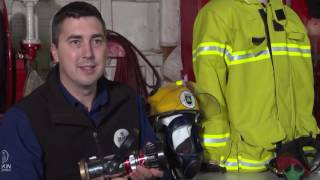 Virtual Reality Firefighting trainer demonstration
