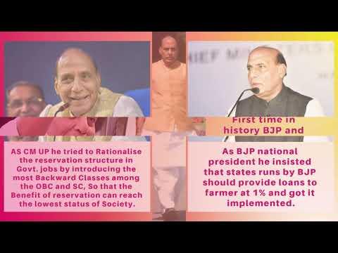 Rajnath Singh Achievements | We Support Rajnath Singh