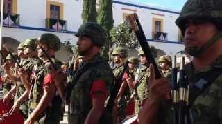 preview picture of video 'Fiestas Octubrinas 2014. Acto cívico conmemorativo al 148 Aniversario de la Batalla de Miahuatlán.'