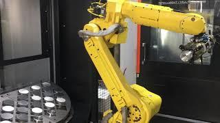 Mazak Integrex i 200 with HALTER Loading Robot @Berenpas Aerospace, Holland
