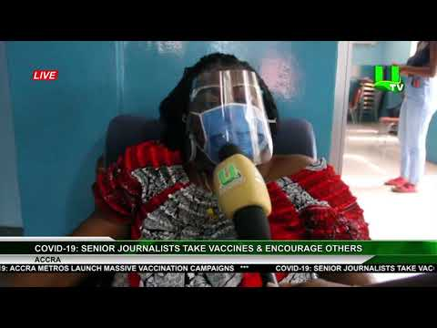 Covid-19: Senior Journalists Take Vaccines & Encourage Others