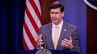 WATCH: US Secretary of Defense Esper talks military posture in Europe
