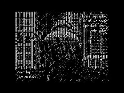 Rain (demo for ZX Spectrum)