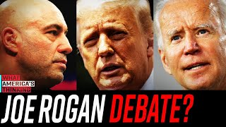 NEW POLL:  OVERWHELMING support for a JOE ROGAN moderated presidential debate