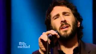 "Josh Groban ""Over The Rainbow"" @vLive with kelly & Michael"