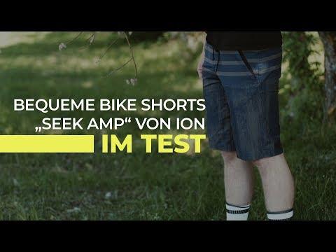 """Die neue lässige """"Seek Amp"""" Freeride-Short von ION im Test"""