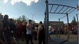 Чемпионат Мурманской области по Workout/Первый батл: Максим Белов VS Артем Петров