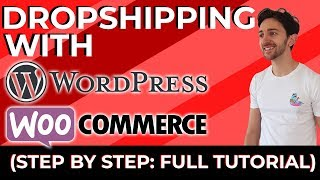 how to create a dropshipping website with wordpress and
