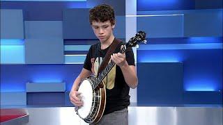 13-year-old Ayden Young - Award Winning Banjo Player