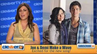 Joe Jonas & Demi Lovato Make A Wave