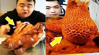 EATING SHOW COMPILATION-CHINESE FOOD-MUKBANG-Greasy Chinese Food- Eat Strange Food!!! #9