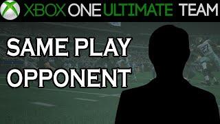 NFL - Madden NFL 15 Ultimate Team - SAME PLAY OPPONENT | NFL Madden 15 Gameplay