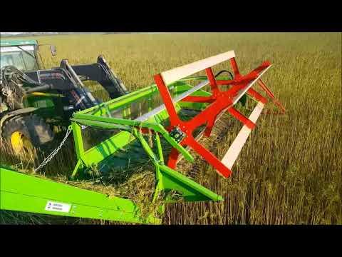 Agroservis - Proizvodnja Hemp harvesting head HHH 3,5