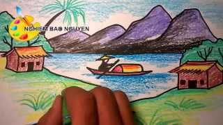Vẽ tranh phong cảnh/How to Draw Landscape