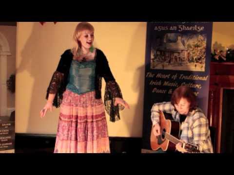 "Niamh O Brien Rhiannon, Performing ""Crazy Man Michael"""