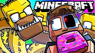 Minecraft Funny Moments - Homer Simpsons Mod!