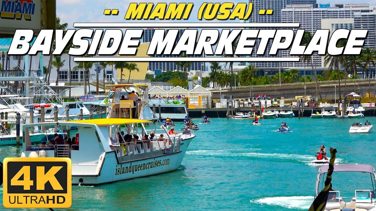 Visit the Bayside Marketplace