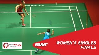 F | WS | Ratchanok INTANON (THA) [6] vs Carolina MARIN (SPA) [4] | BWF 2019