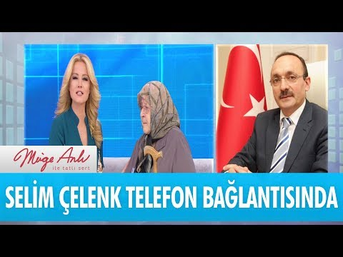 Aile ve Sosyal Politikalar Müdürü Selim Çelenk telefon bağlantısında – Müge Anlı İle Tatlı Sert