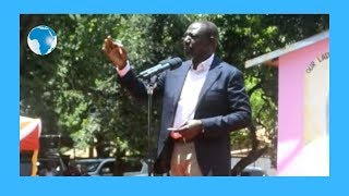 DP Ruto accuses ODM leaders of spreading hate and ethnicity in the
