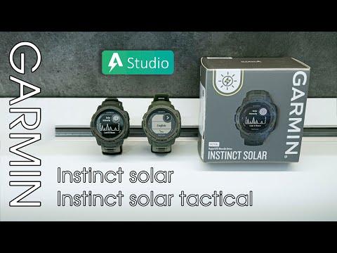 Tìm hiểu chi tiết về Garmin Instinct Solar Series - Nhiều sự nâng cấp khác biệt